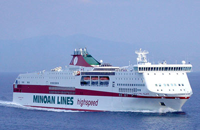 Minoan Lines Freight