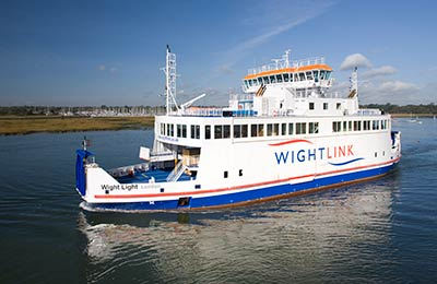 Wightlink Ferries Freight